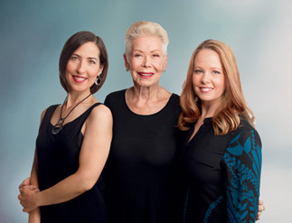Heather Dane, Louise Hay and Ahlea Khadro