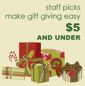 Gifts $5 and Under