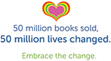 Hay House - 50 Million Book Sold logo