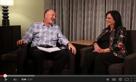 Reid Tracy talks with Anita Moorjani