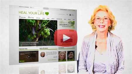 Click to Play Louise's Welcome Video for the HealYourLife.com