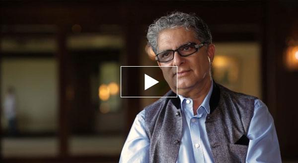 Watch Deepak Chopra's Lesson Now